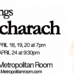 Anastasia Barzee sings Burt Bacharach April 18-20 in NYC